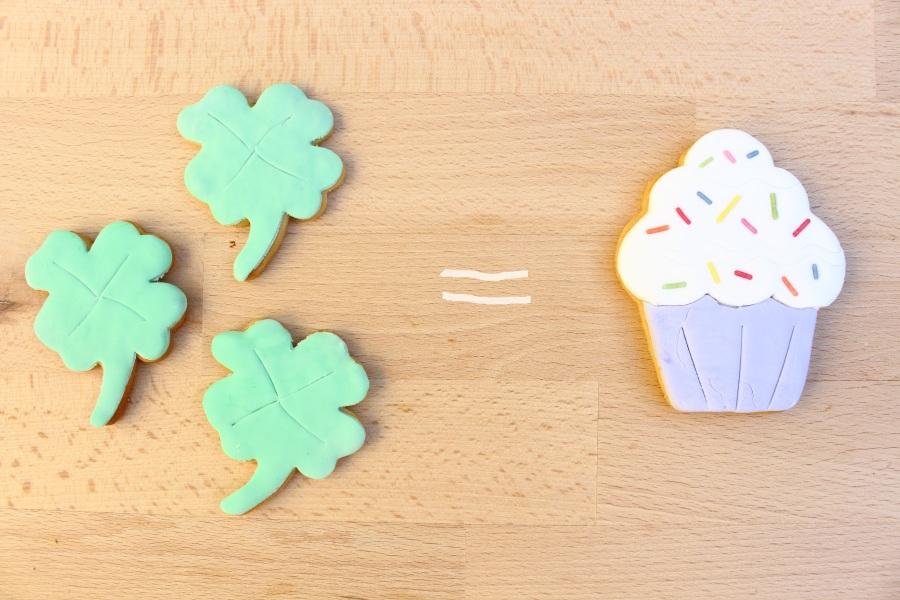 Glück ist backbar Kekse